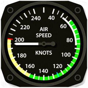 飛行員特色杯墊系列之飛行速度表