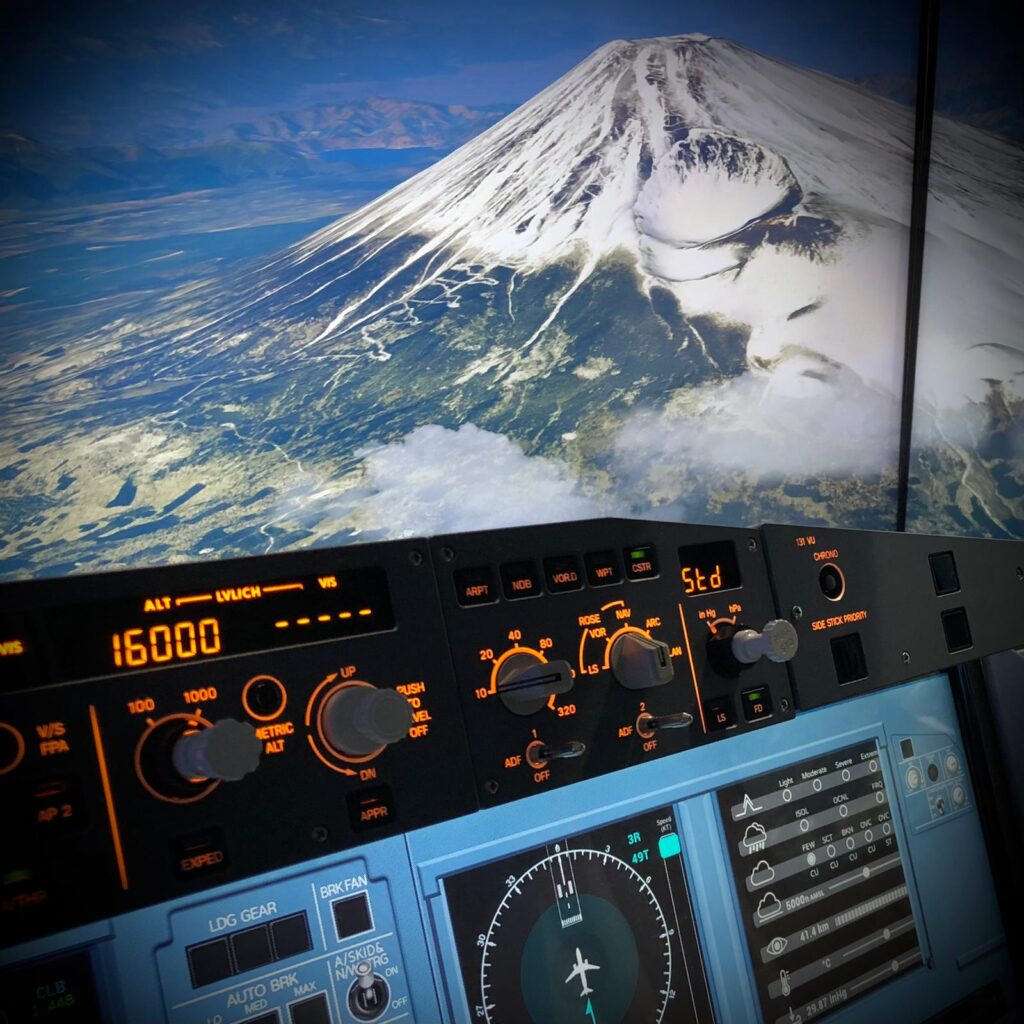 模擬飛行體驗